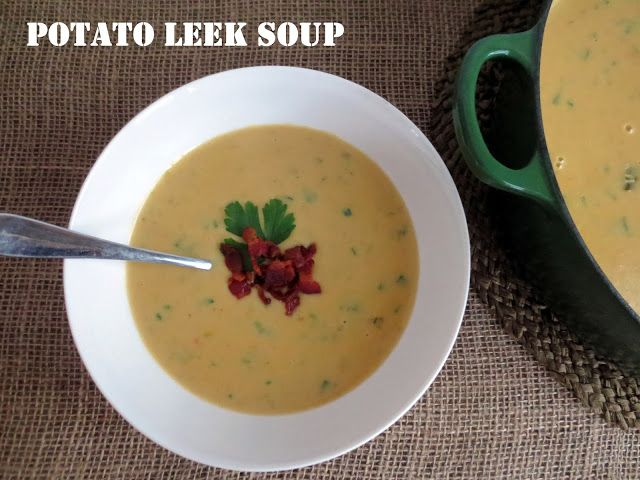 soup potato leek soup potato leek soup potato leek soup ham potato and ...