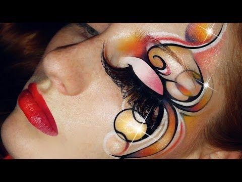 Makeup artistico creativo per carnevale - VideoTrucco