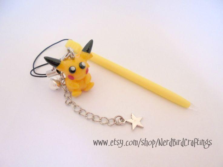 Pokemon Pikachu Themed Stylus - 3DS 3DSXL DS DS Lite
