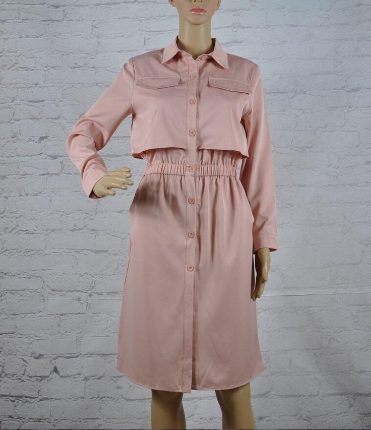 TAOVK 2016 новый летний Русский стиль Женщины Осень С Длинными рукавами Платье Розовый Черный длинный отрезок платье лацкане купить на AliExpress