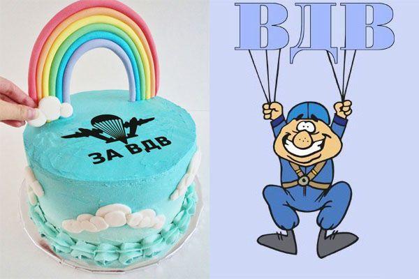 Праздничные торты ко дню рождения