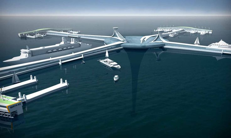 Floating structures, marinas, docks, floating installations, infrastructure, http://yook3.com , Wilfried Ellmer