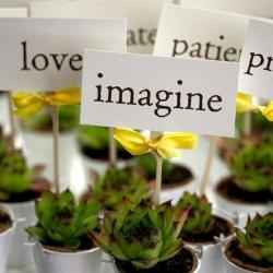 Green Wedding Favour Ideas