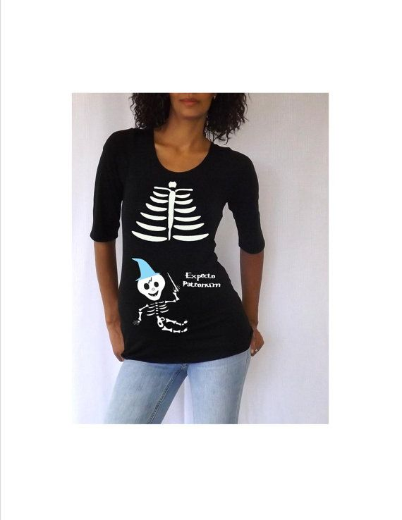 maternity halloween shirt with cute harry by djammarmaternity - Homemade Halloween Shirts