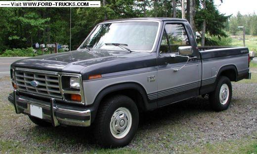 1985 Ford F150 XLT Lariat, 302 V8/Auto
