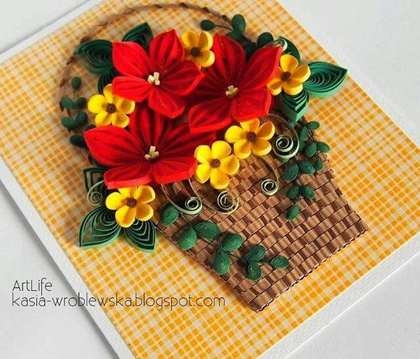 *QUILLING ~ Magic World. Scrapbooking | VK