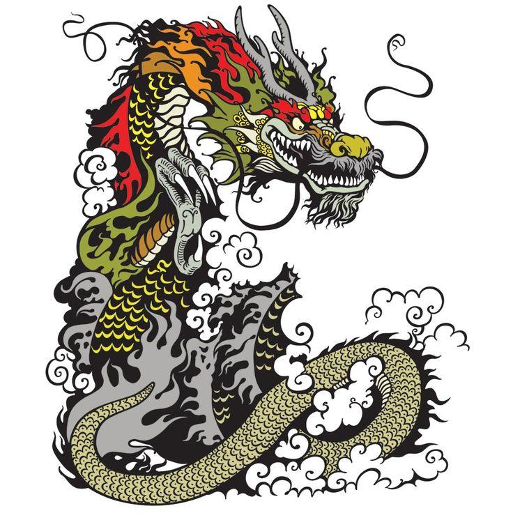 Dragon Print T-Shirt