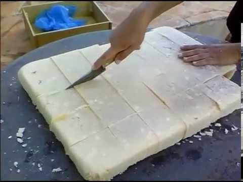 Sabão  Caseiro  (Como bater o sabão caseiro usando uma furadeira) - YouTube