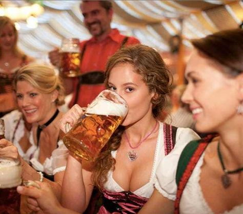 Guy in the Back Has No Idea Ho... is listed (or ranked) 4 on the list The 100 Sexiest Dirndl Girls in Oktoberfest History