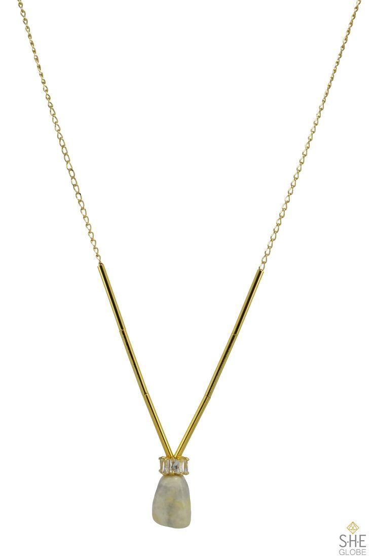 Grace Necklace - semi-precious stone | Shop the collection online. Sheglobe.com  #earring #bracelet #style #semiprecious #gemstones #gemstonejewelry #pearls #artisan #handmadejewelry #modern #classy #torontodesigner #design #designer  #fashionista #torontomade #madeintoronto #yyz #torontoevents #to #torontofashion #jewelrydesign #jewelrydesigner #handcrafted #handcraftedjewelry   #style #sheglobe #style #classic