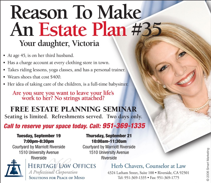Estate Planning: SmartMarketing's Ads: A Collection Of Products Ideas To