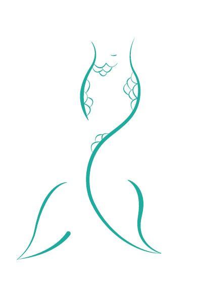 Mermaid Tail Logo on Behance