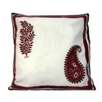 Cushion / Pillow Cover - Floral hand embroidery