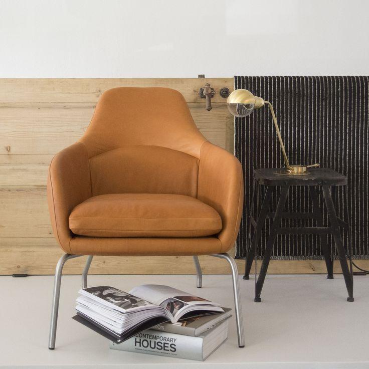 ASENTO | Lounge chair designed by Bent Hansen Studio. Living room, lounge chair, lænestol, stue, indretning