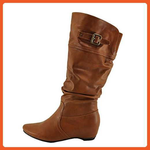 Blossom Amar 56A Casual Under the Knee Riding Women's Boots (6, Cognac) - Boots for women (*Amazon Partner-Link)