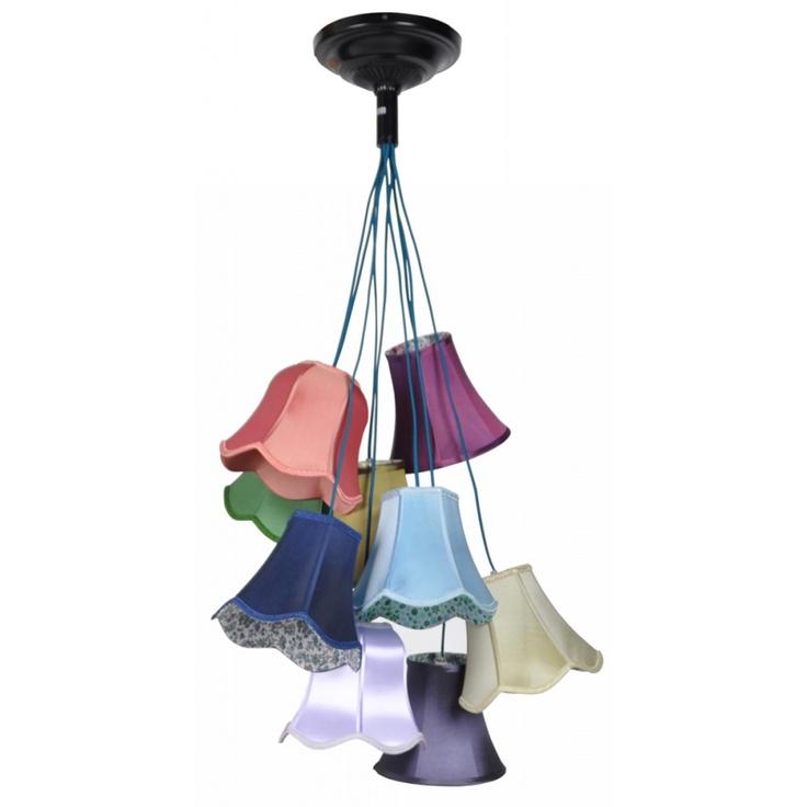 Hanglamp Granny zoooo leuk!!