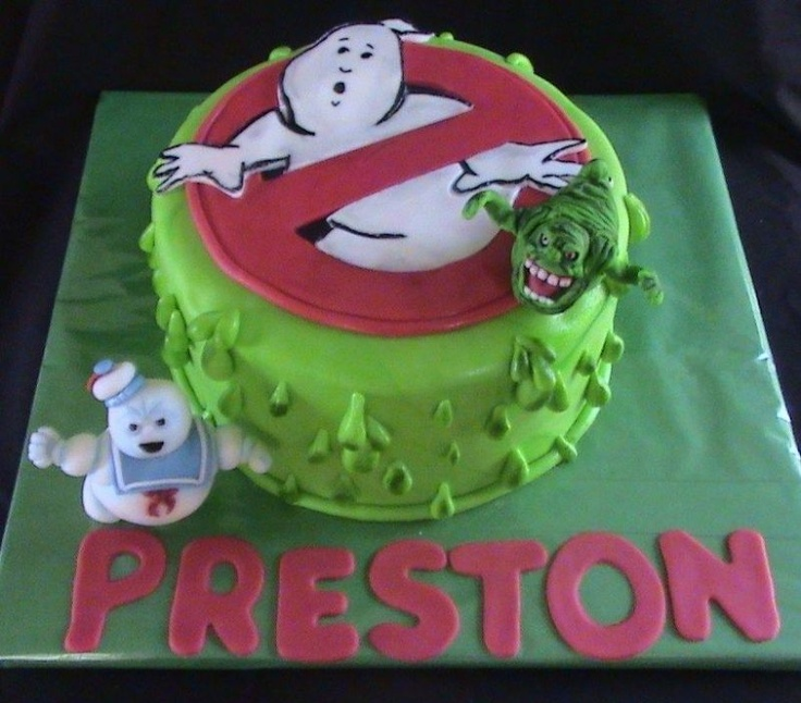 16 best Ghostbusters images on Pinterest Anniversary cakes