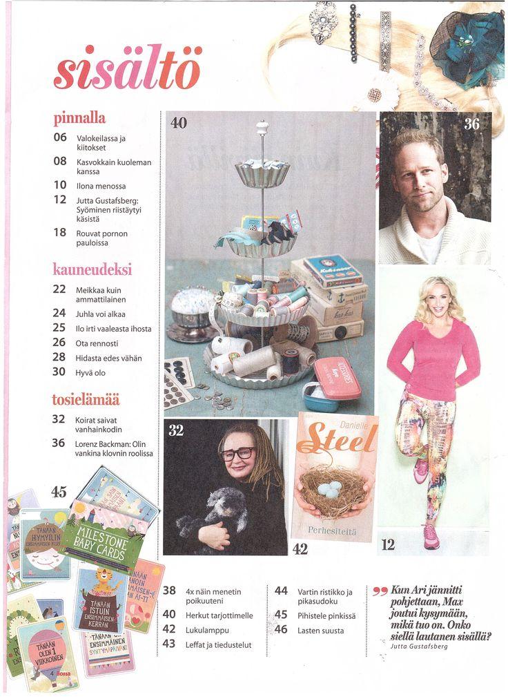 Milestone Baby Cards at Ilona 3 2015 (Finland)   www.bigsmallcompany.com