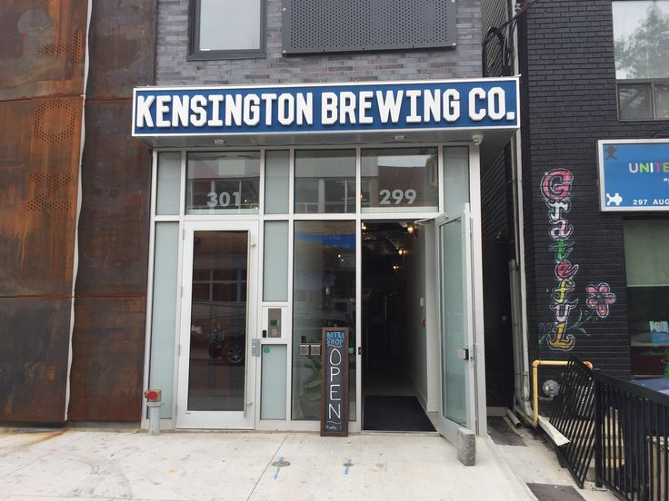 "Kensington Brewing Co. - An example of cutting out the ""middle man"" - this newly launched brew pub has brought everything in house from production to distribution!"