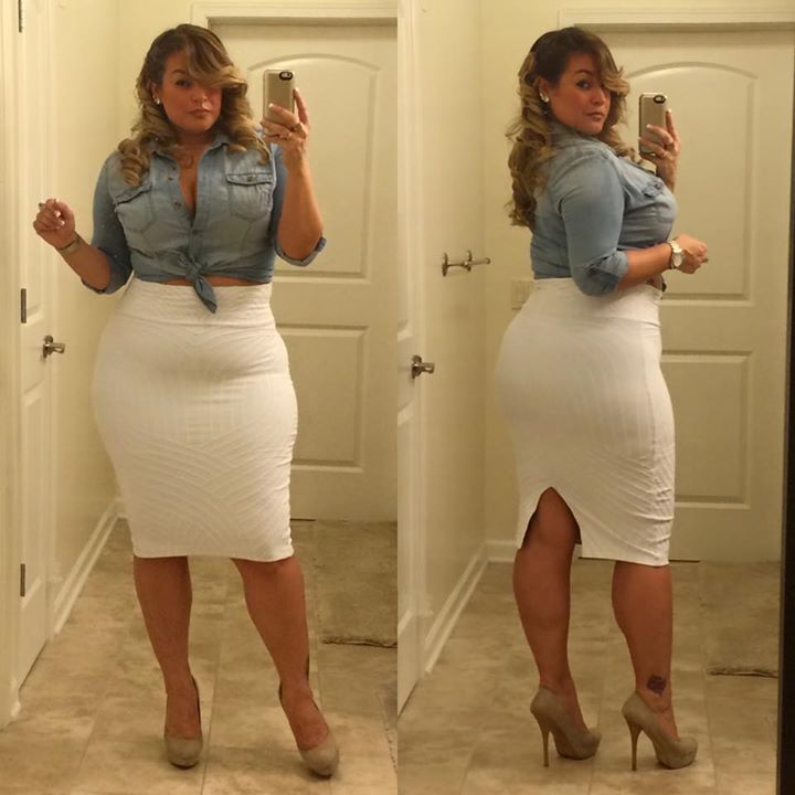 Plus size outfits for going out are quite rare items of clothing to come across in this world where every item of clothing seems to be simply and only cater