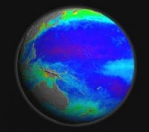 """Scientists now have nearly a decade's worth of data showing the cycle of plant life in the Earth's oceans. From space, the """"ocean color"""" satellites measure the ocean's biology as plant productivity."""