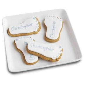 I love these footprint biscuits