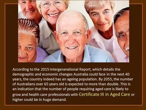 Advantages of having a CHC30212 Certificate III in Aged Care - YouTube