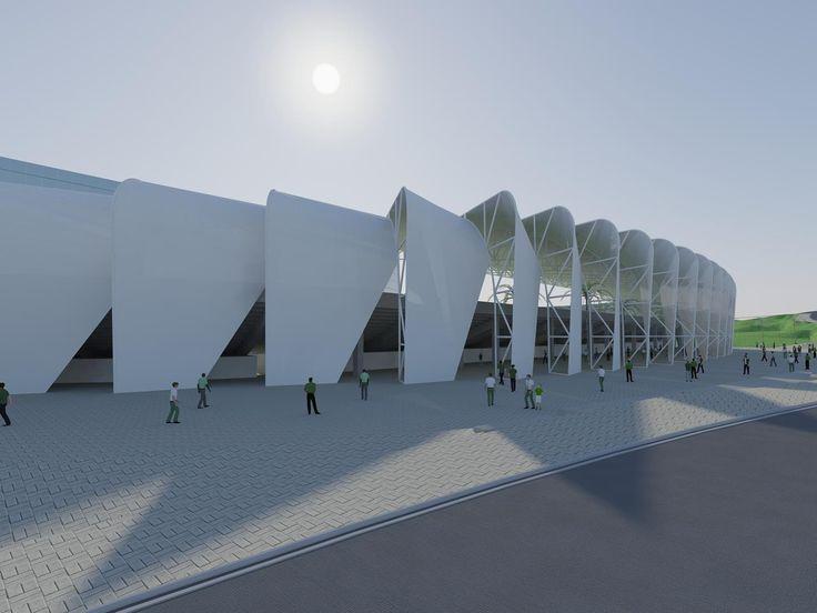 Arena Brinco de Ouro da Princesa   Galeria da Arquitetura