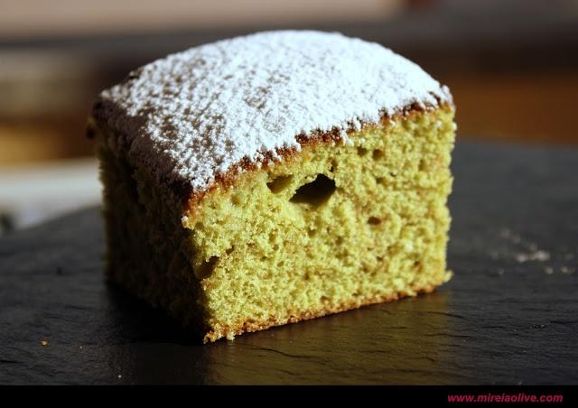 Matcha Kasutera (Matcha Sponge Cake)