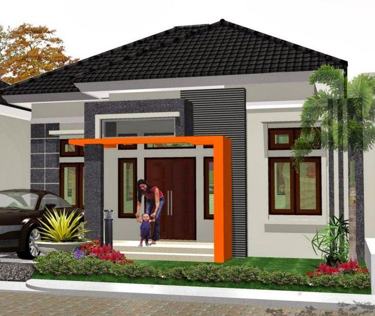Desain Rumah Minimalis 1 Lantai Sederhana 9