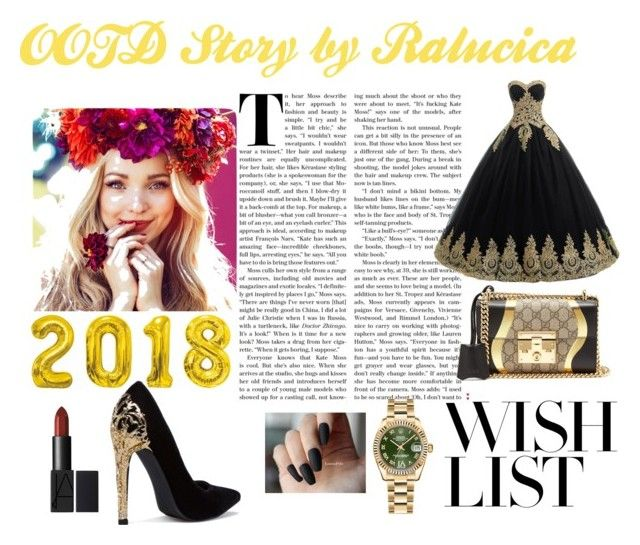 OOTD Story by Ralucica by ralucica-andreea on Polyvore featuring Gucci and Rolex
