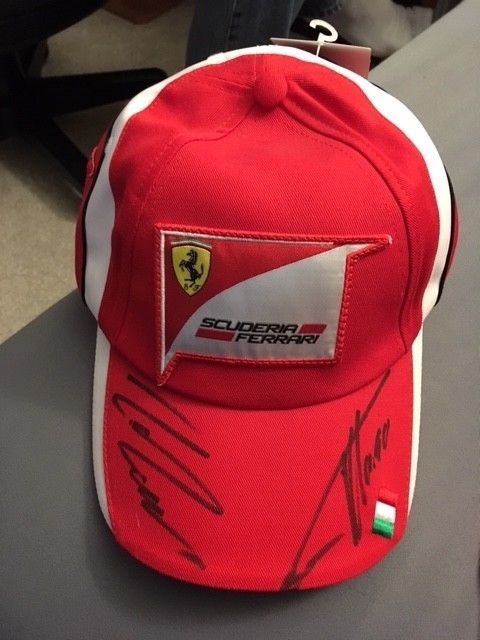 cba7f385e1d Scuderia Ferrari signed collectible hat red new with tags  fashion   clothing  shoes  accessories  mensaccessories  hats (ebay link)