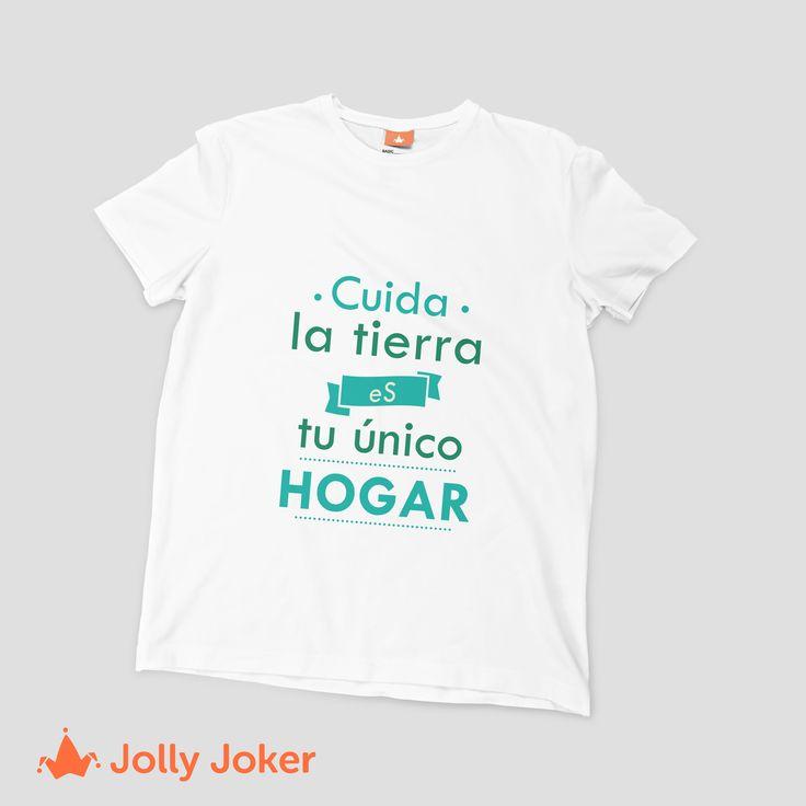 Dar a conocer buenos mensajes es algo increíble! Diseña y crea tus camisetas personalizadas alusivas a la tierra, con las frases que más te gusten. Entra a nuestro diseñador :)