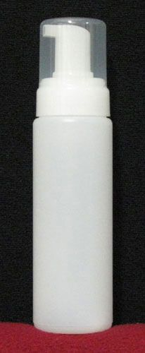 Natural Foam Soap Pump with 210mL HDPE Bottle (100 Saver Pack) http://www.bottlesandfoamers.com/cart/foam-pump-set-210ml-c-2.html