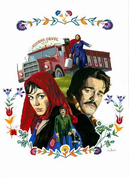 Türk Sinemasının 100. yılında 100 illustrasyon - Hızlı Muhabir