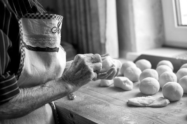 Die Hascheeknödel von meiner Oma...   ziiikocht