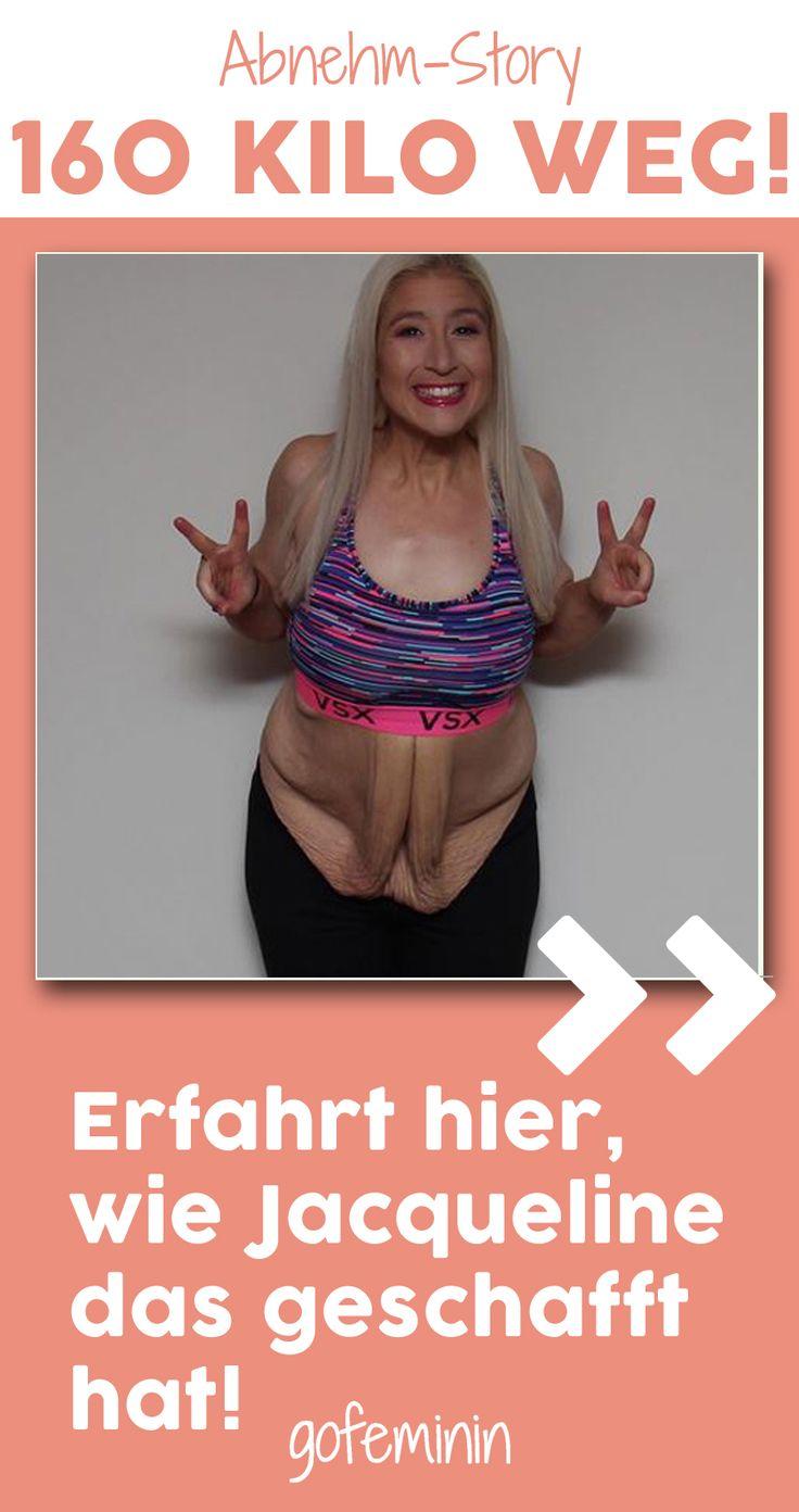 Diese Frau verlor fast 160 kg – und zeigt nun anderen, wie sie das geschafft hat…