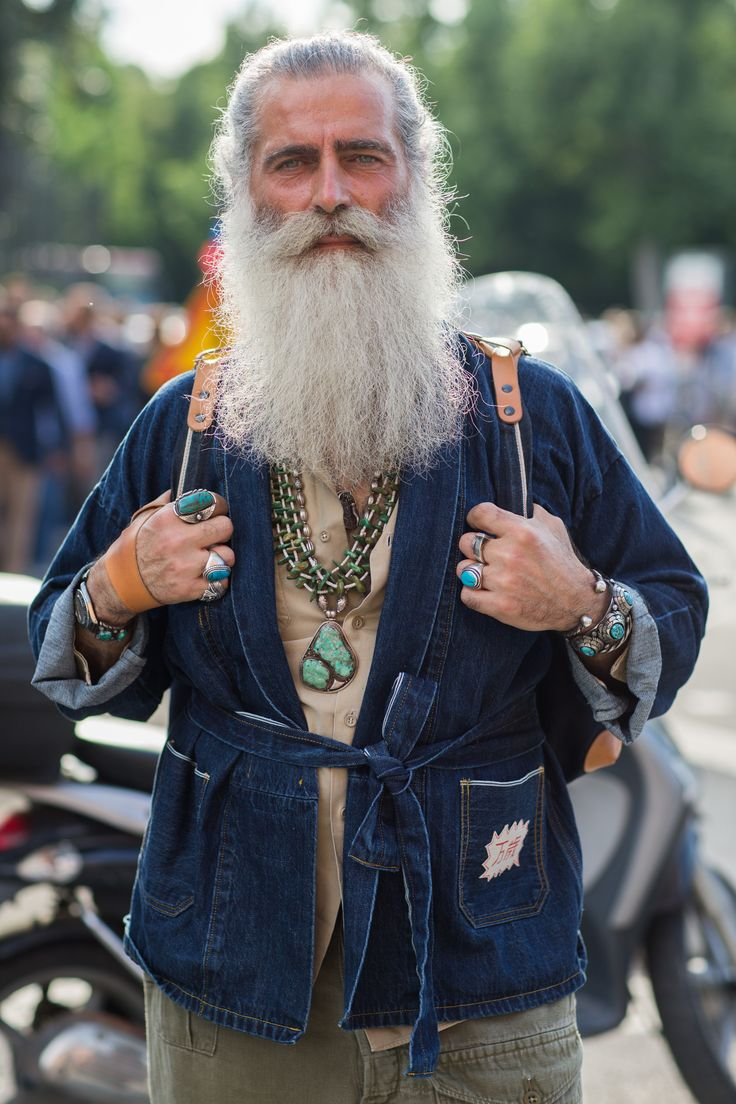 STST2838 This wizard hobo hippy guru gypsy man... I want to know his story