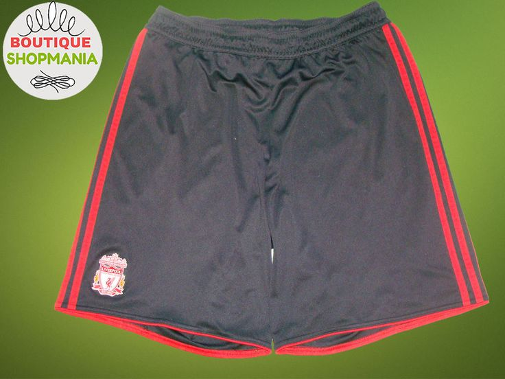 LIVERPOOL Away 2010-2011 (XL) ADIDAS FOOTBALL SHORTS SOCCER #ADIDAS #LIVERPOOL