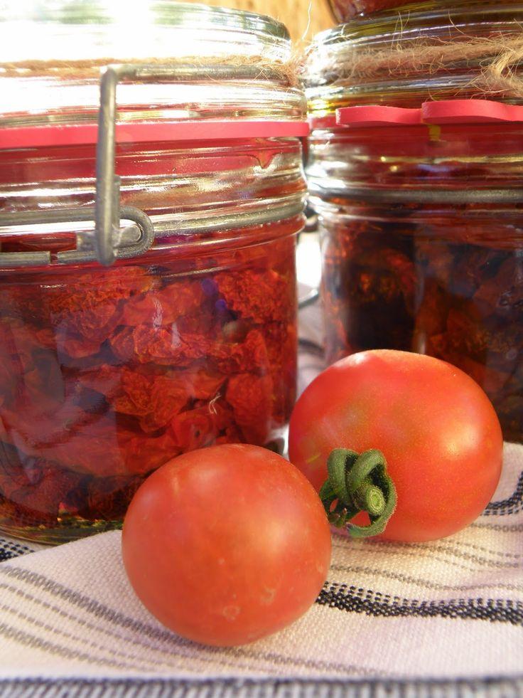 Moji šťastní andělé : Sušila jsem rajčátka