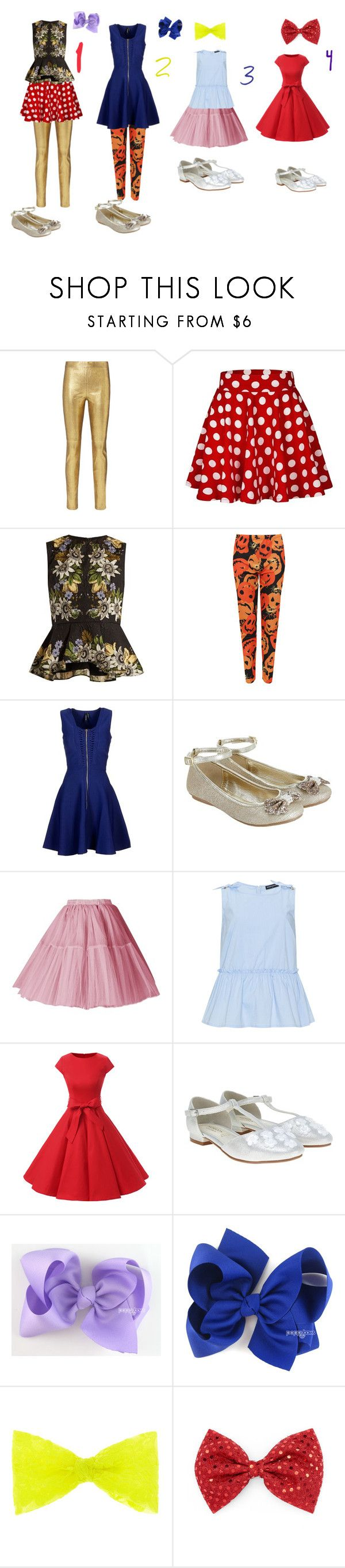 """""""Which Girly outfit is your favorite?"""" by sierra-ivy on Polyvore featuring Intermix, Erdem, WearAll, Marciano, Monsoon and Manon Baptiste"""