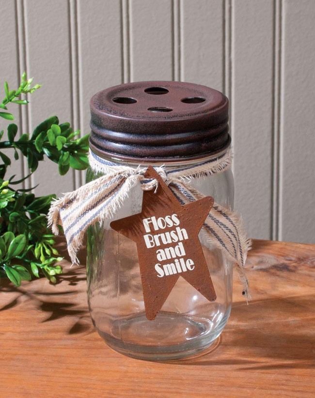 25 best ideas about toothbrush holders on pinterest for Mason jar holder ideas