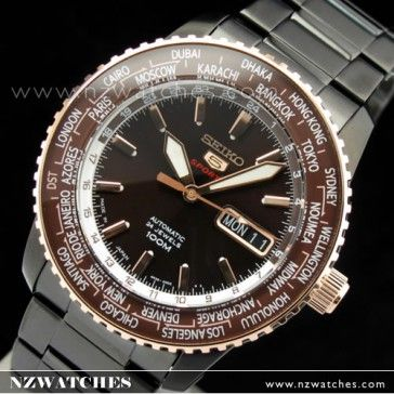 BUY Seiko 5 Sport 4R36 Automatic Ltd Edition Mens Watch SRP132J1, SRP132 Japan - Buy Watches Online | SEIKO NZ Watches