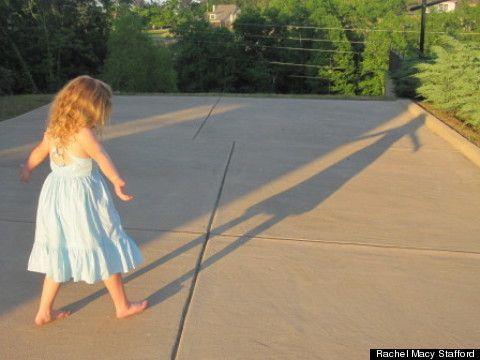 o dia que parei de apressar minha filha