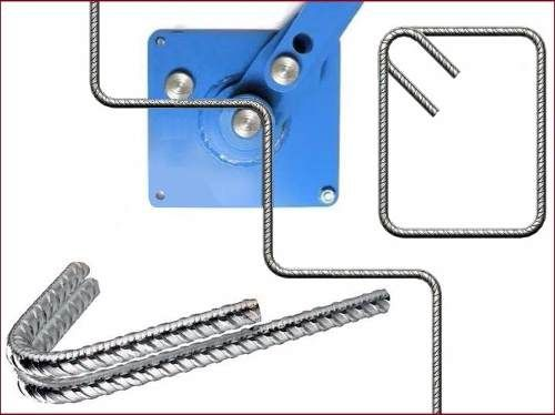 dobladora manual de hierros profesional 4 - 12 mm estribos