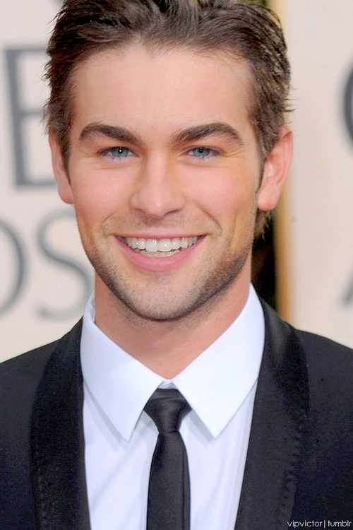 Chase Crawford. I had a dream he was my boyfriend last night! If only your dreams were true!
