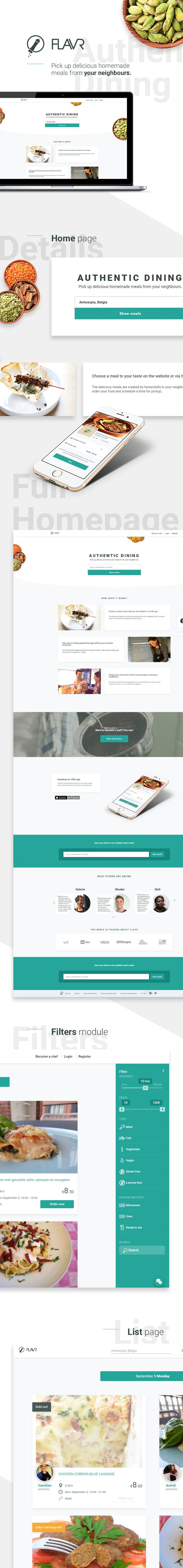 FLAVR is a startup for chefs that want to sell homemade meals. During the development of this #RWD application we worked with Mean.io, which contains #MongoDB, #Express,# AngularJS, Node.js, #AngularMaterialDesign, #ES6, #Babel, and #Websockets. The whole project was preceded by #DesignThinking workshops, during which we discussed in detail the concept of not only the application itself but also the vision of the whole project.
