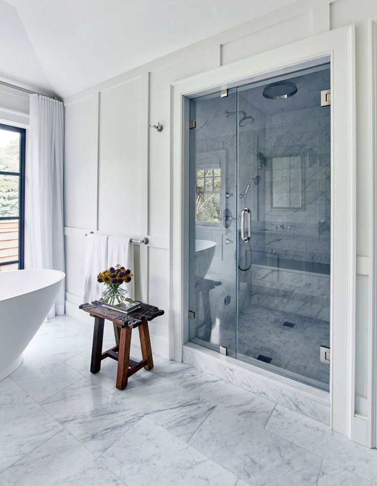 gray and white spa shower