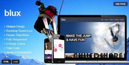 Themeforest – Blux – Responsive One Page Theme » Nulled Scripts, php, WSOs - NulledShare.com