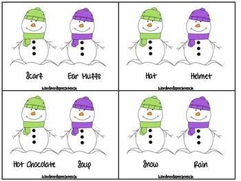 Snowman Language Round-up  FREE